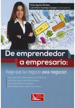 portada De Emprendedor a Empresario