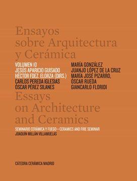 portada Ensayos Sobre Arquitectura y Ceramica vol 10