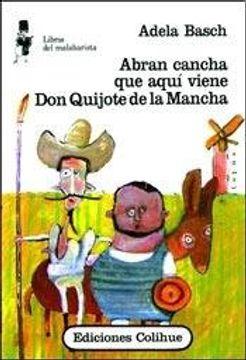 portada Abran Cancha que Aqui Viene don Quijote de l