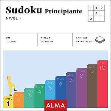 portada Sudoku Principiante, Nivel 1