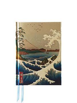portada Hiroshige The Sea at Satta (Foiled Journal) (Flame Tree Notebooks)