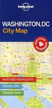 portada Lonely Planet Washington DC City Map (Lonely Planet City Maps)