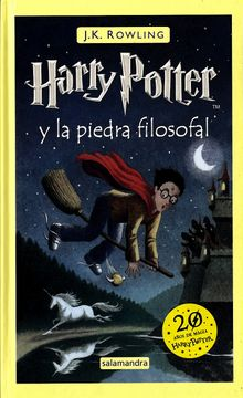 portada Harry Potter y la Piedra Filosofal