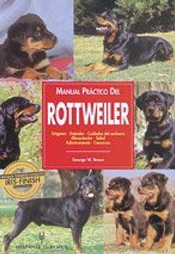 portada Manual Practico del Rottweiler