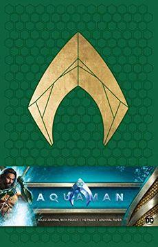 portada Aquaman Hardcover Ruled Journal (libro en inglés)