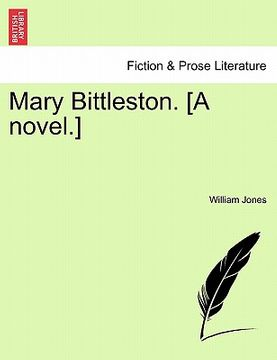 portada mary bittleston. [a novel.]
