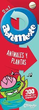 portada Abremente 2 en 1: Animales y Plantas