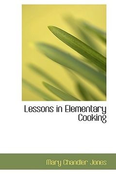portada lessons in elementary cooking