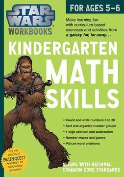 portada Star Wars Workbook: Kindergarten Math Skills (Star Wars Workbooks)
