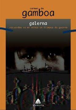 portada Galerna: Recuerdos de mi niñez en tiempos de guerra (Alga)