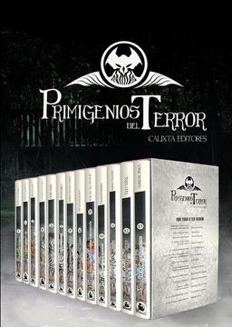 portada Primigenios del Terror (Colección)