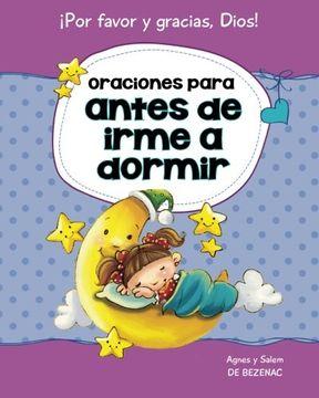 portada Oraciones para antes de irme a dormir: 15 oraciones para niños: Volume 2 (Decirle a Dios Por favor y Gracias!)