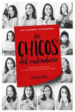 portada Los Chicos del Calendario 5: Noviembre y Diciembre (Titania Sombras)