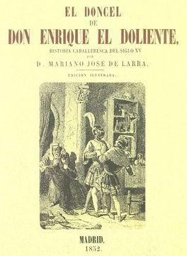 portada EL DONCEL DE DON ENRIQUE EL DOLIENTE
