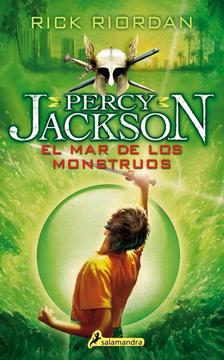 portada El Mar De Los Monstruos (Percy Jackson)