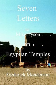 portada seven letters to mike tyson on egyptian temples