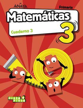 portada Matematicas 3Prim 3ej Vvaa