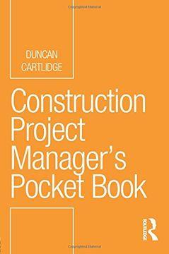 portada Construction Project Manager'S Pocket Book (Routledge Pocket Books) (libro en inglés)