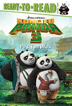 portada Po's two Dads (Kung fu Panda 3 Movie) (libro en Inglés)