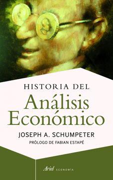 portada Historia del Analisis Economico