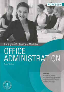 portada Office Administration wb Grado Medio Ed. 13 Burlington