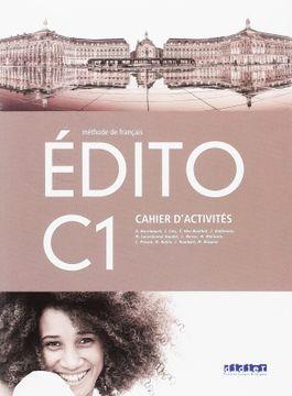 portada EDITO C1 EJER (libro en Francés)