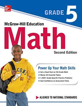 portada Mcgraw-Hill Education Math Grade 5, Second Edition (libro en Inglés)