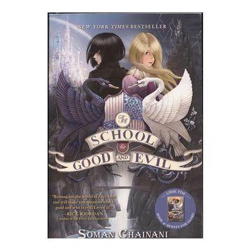 portada The School for Good and Evil 01 (libro en Inglés)