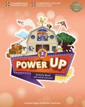 portada Power up Level 2 Activity Book With Online Resources and Home Booklet (libro en Inglés)