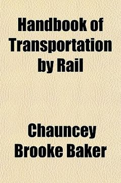 portada handbook of transportation by rail