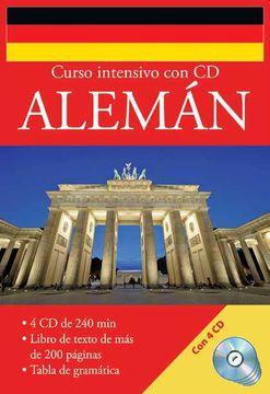 portada Curso Intensivo con cd Aleman (Incluye 4 Cds)