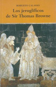 portada Los Jeroglíficos de sir Thomas Browne