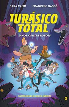 portada Dinos Contra Robots (Jurassico Total 2)