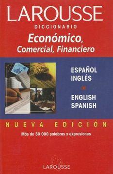 portada Diccionario Economico, Comercial y Financiero. Ingles-Espanol. (libro en Español, Inglés)