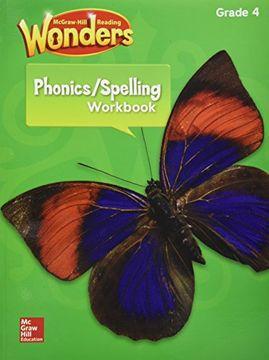 portada Wonders: Phonics & Spelling Workbook Gra