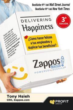 portada Delivering Happiness (Entregando Felicidad)