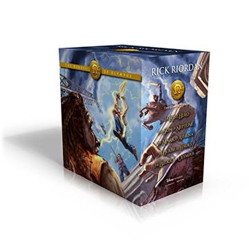 portada The Heroes of Olympus Hardcover Boxed set