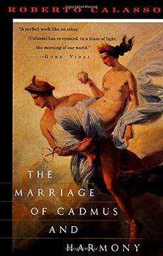 portada The Marriage of Cadmus and Harmony (libro en Inglés)