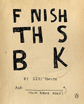 portada Finish This Book (libro en Inglés)
