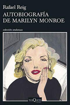 portada Autobiografía de Marilyn Monroe (Andanzas)