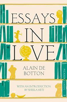 portada Essays In Love: Picador Classic (Picador Classics)