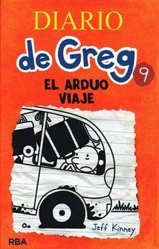 portada Diario de Greg 9: El arduo viaje