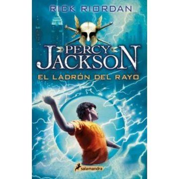 portada El Ladron del Rayo (Percy Jackson y los Dioses del Olimpo 1)