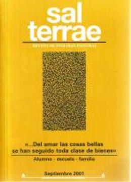 portada Sal Terrae, Revista De Teología Pastoral. Septiembre 2001. Tomo 89 / 8 (N. 1048)
