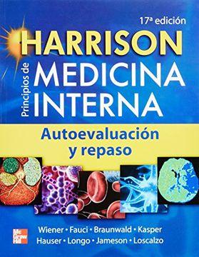 portada Harrison Principios de Medicina Interna 17Ed. Autoevaluacion y Repaso