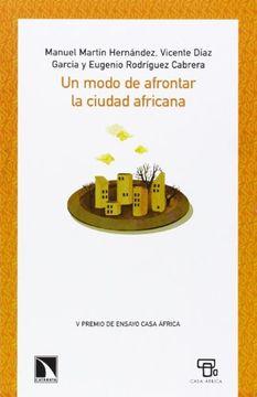 portada Un Modo De Afrontar La Ciudad Africana