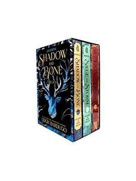 portada The Shadow and Bone Trilogy Boxed Set: Shadow and Bone, Siege and Storm, Ruin and Rising (libro en Inglés)