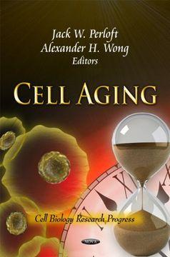 portada Cell Aging (Cell Biology Research Progress) (libro en inglés)