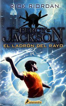 portada El Ladrón del Rayo (Percy Jackson y los Dioses del Olimpo 1)