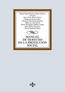 portada Manual de Derecho de la Protección Social